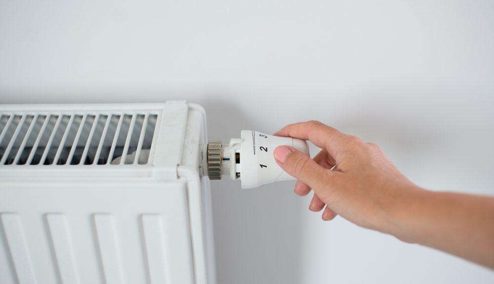 vlakke radiatoren